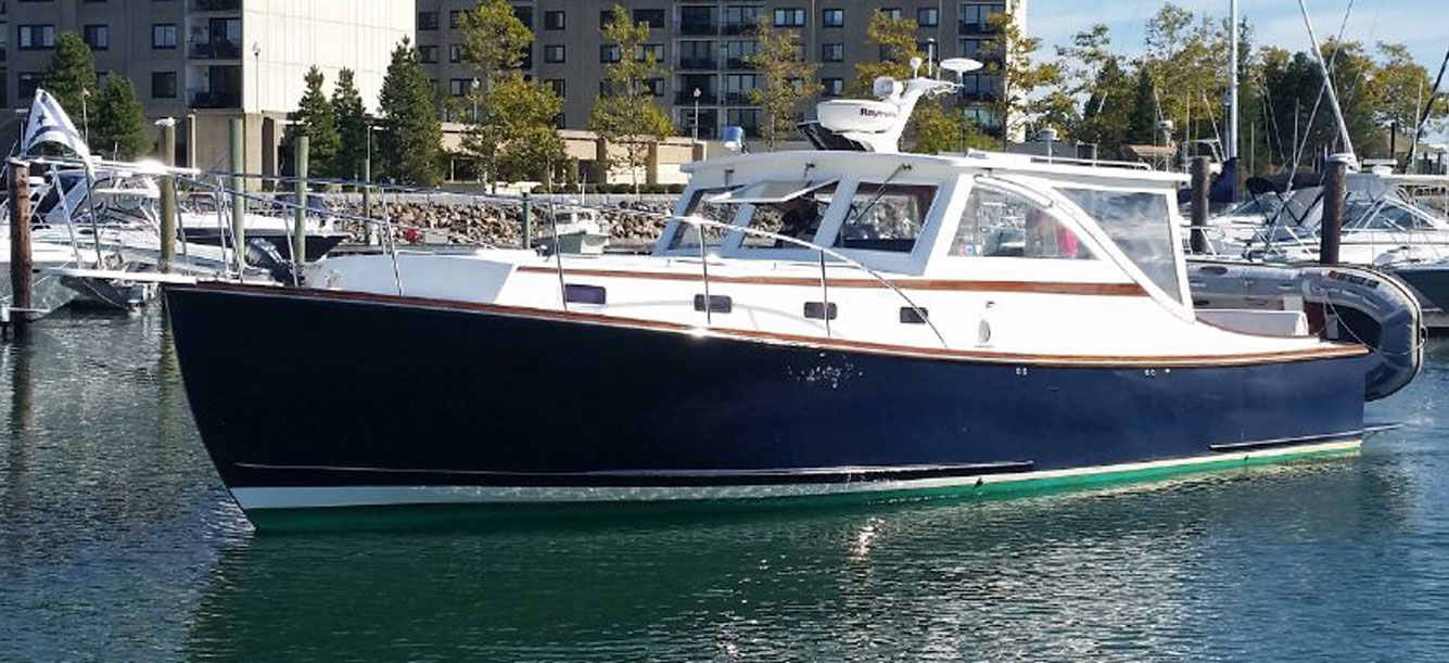 Maine's Ellis 36 Express Cruiser - Boat for Charter